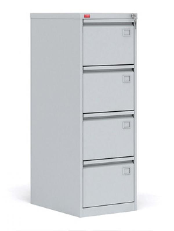 Картотечный металлический шкаф для хранения документов КР - 4