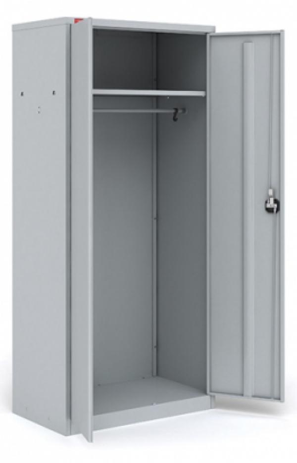 Металлический шкаф для хранения верхней одежды ШАМ - 11.Р