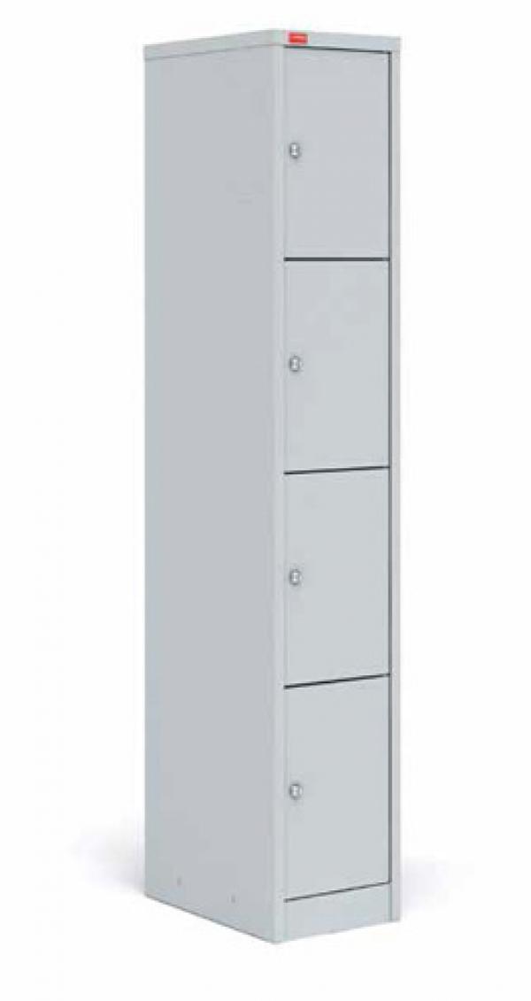 Односекционный металлический шкаф для сумок ШРМ - 14