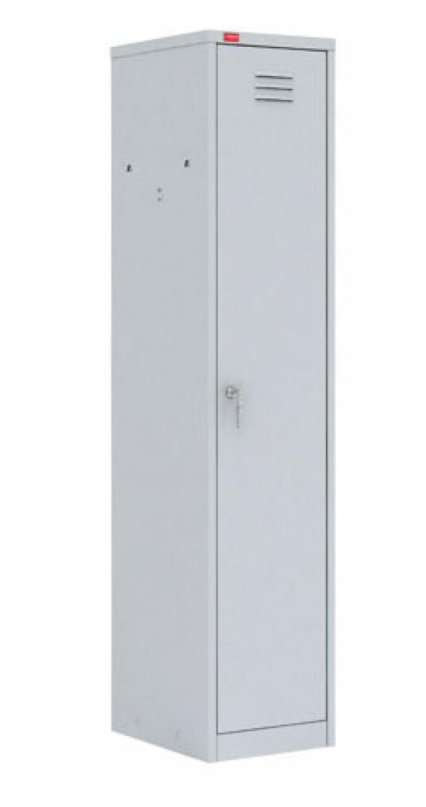 Односекционный металлический шкаф для одежды ШРМ - 21