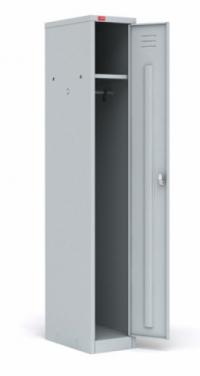 Односекционный металлический шкаф для одежды ШРМ - 11