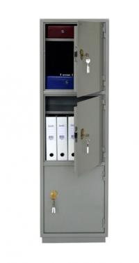 Металлический бухгалтерский шкаф КБС - 033