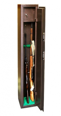 Оружейный сейф для оружия на 3 ружья КО - 036т