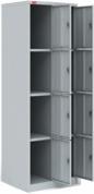 Модульный металлический шкаф для сумок ШРМ - 28 - М