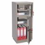 Металлический бухгалтерский шкаф  КБС - 042т