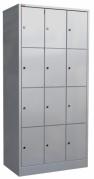 Трехсекционный металлический шкаф для сумок ШРМ - 312 (а) Распродажа в Перми
