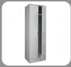 Металлические шкафы для одежды ШРМ-22
